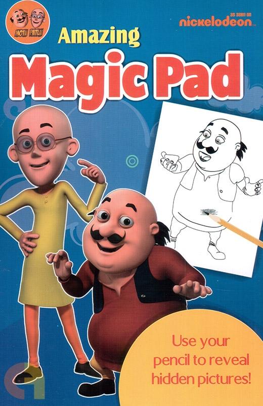 Motu Patlu Amazing Magic Pad (Blue)