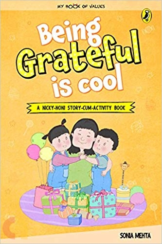 My Book of Values: Being Grateful is Cool