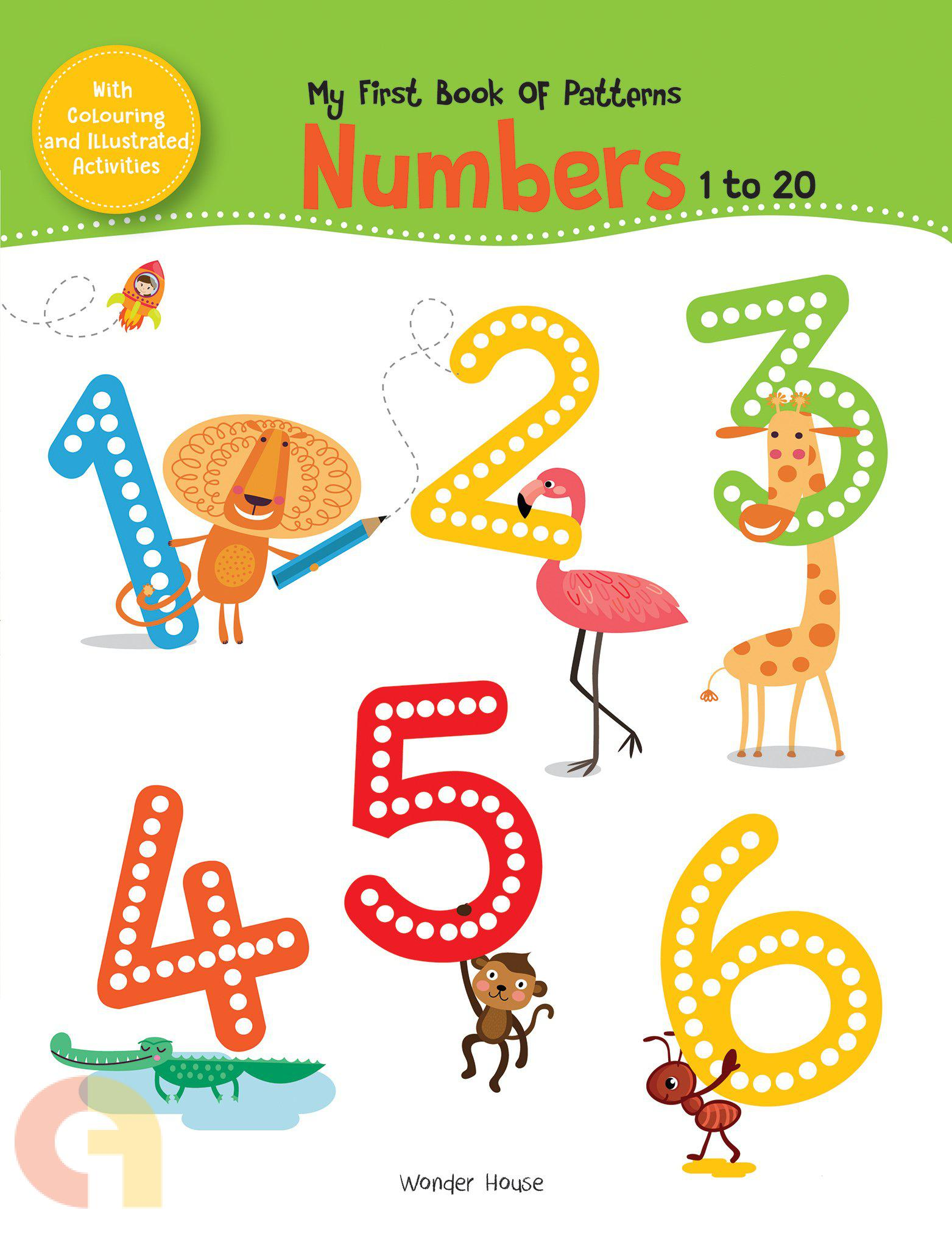 My First Book of Patterns: Numbers 1 to 20