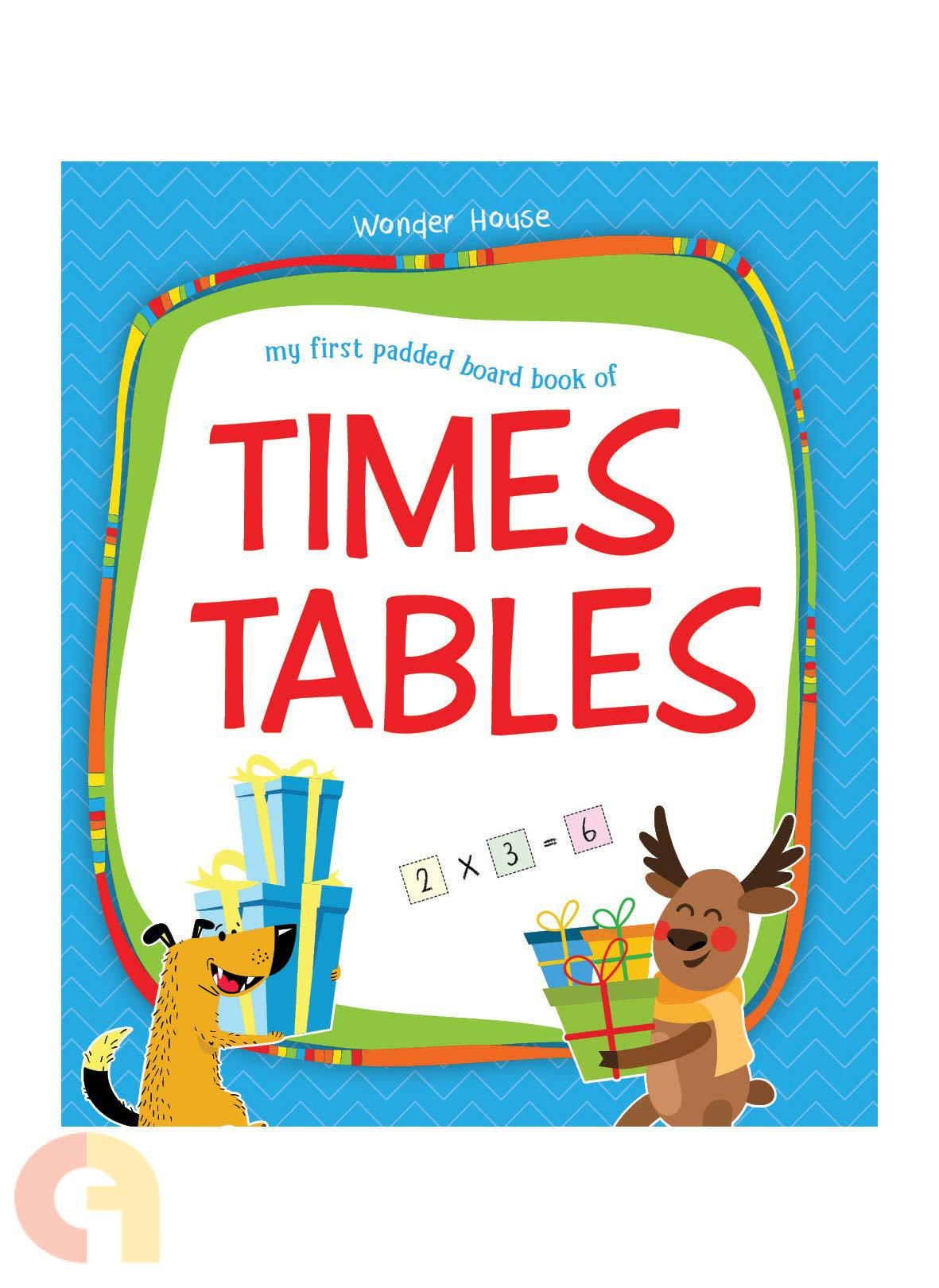 My First Padded Board Books of Times Table