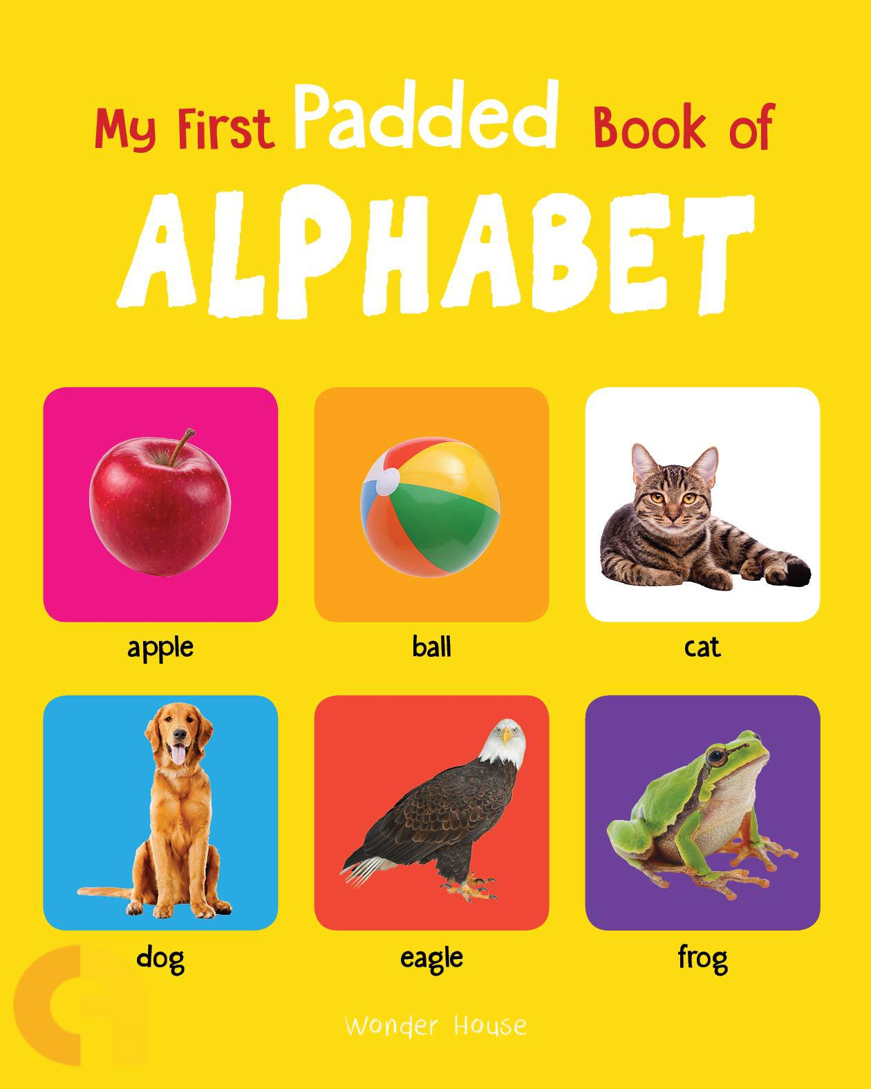 My First Padded Book Of Alphabet