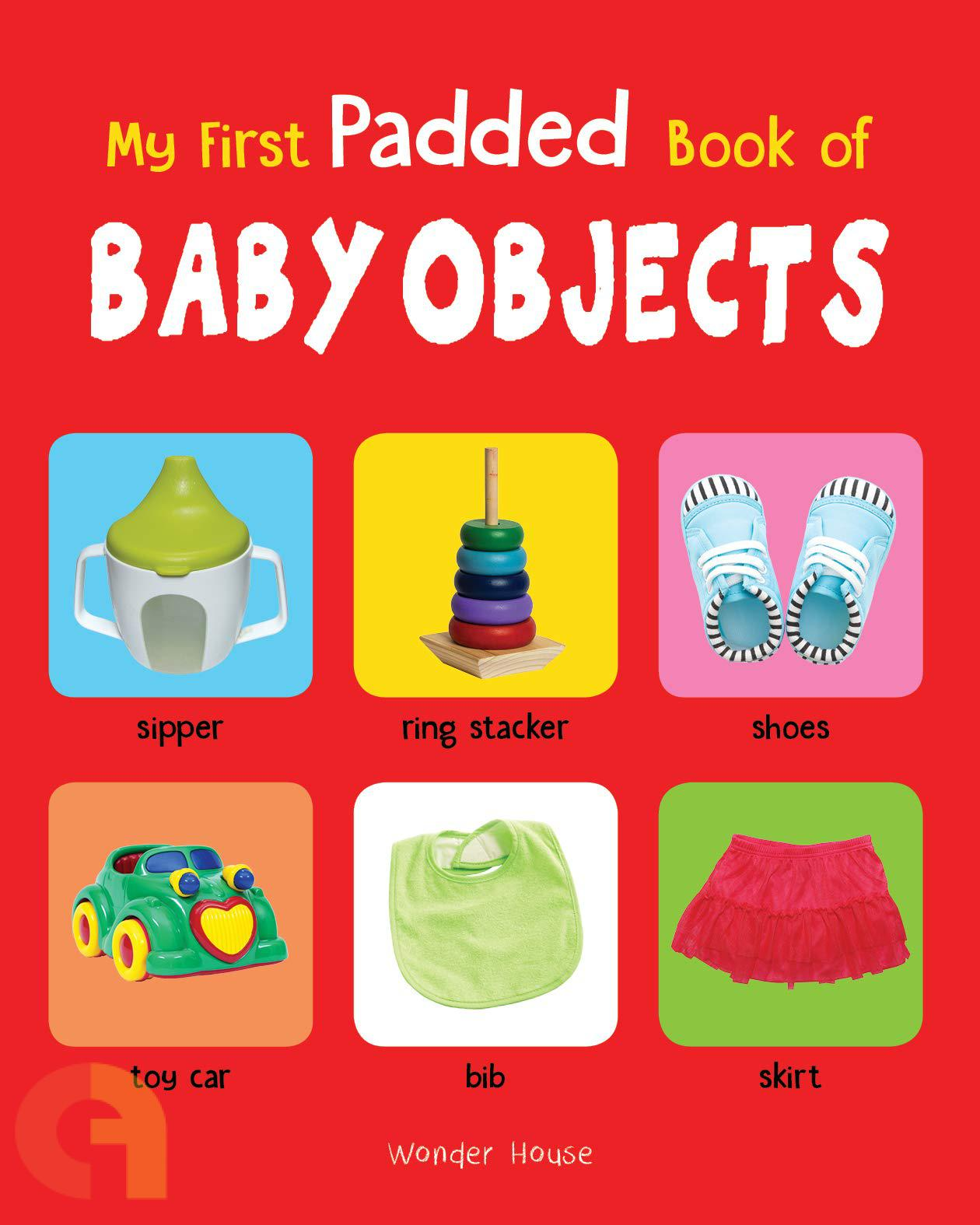 My First Padded Book Of Baby Objects