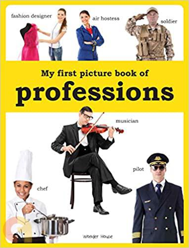 My first picture book of Professions