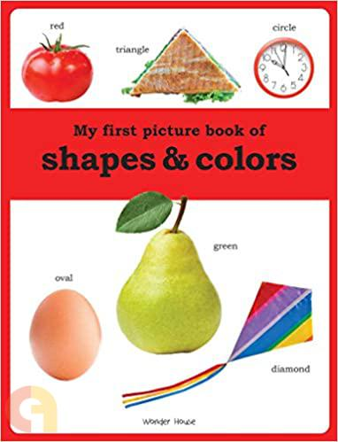 My first picture book of Shapes and Colours