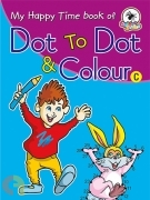 My Happy Time Dot To Dot and Colour - C