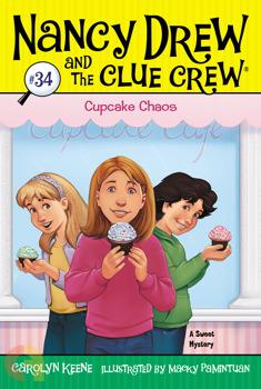 Nancy Drew and the Clue Crew Cupcake Chaos # 34
