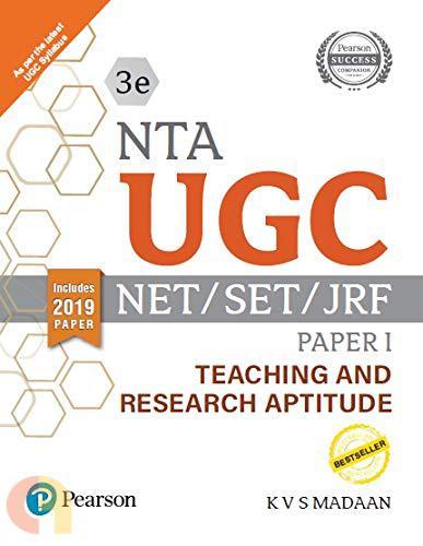 NTA UGC - NET/SET/JRF Paper I