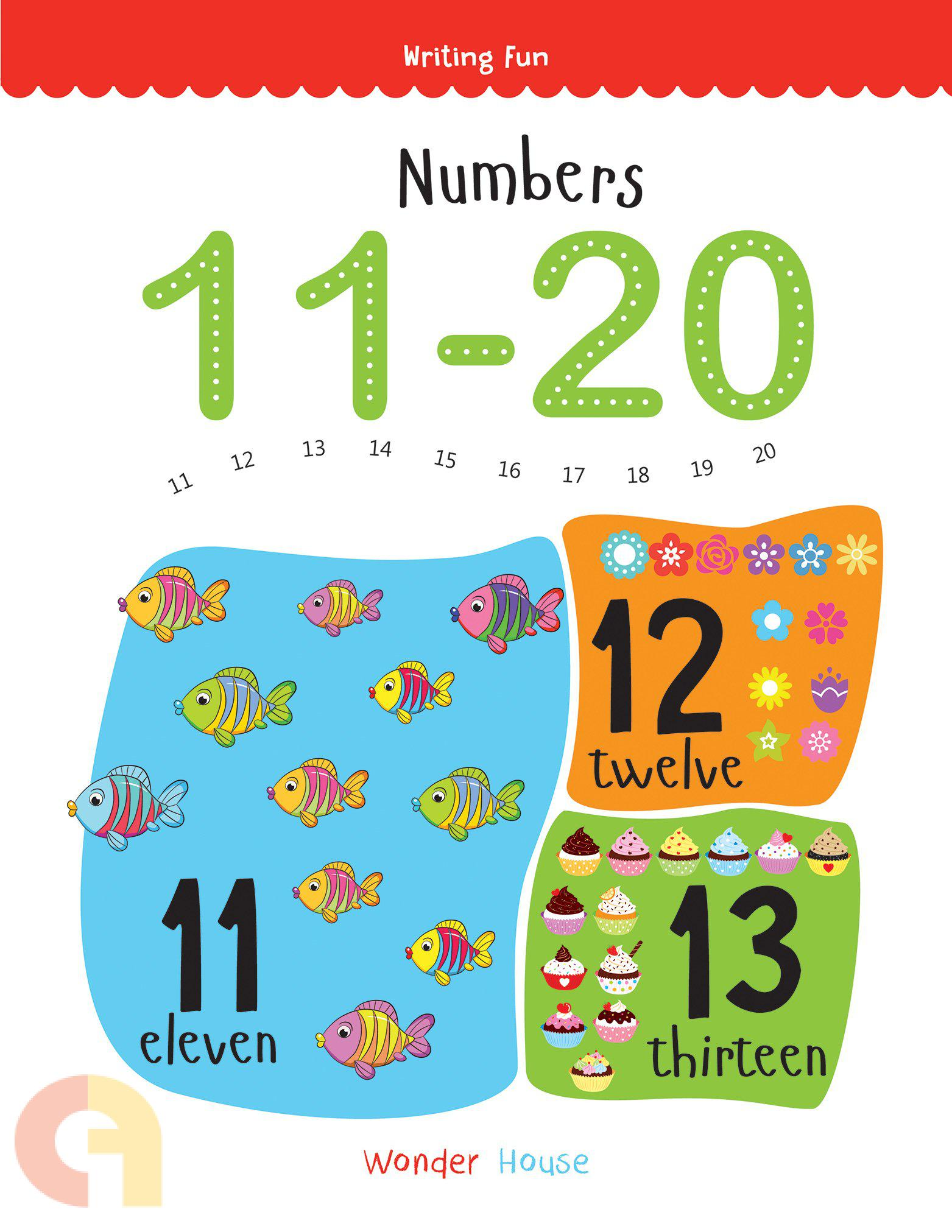Numbers 11 - 20