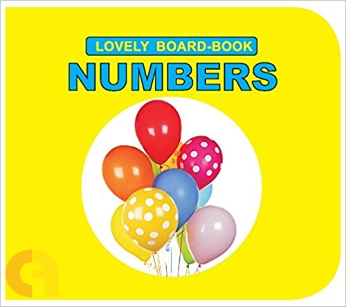 Numbers (Lovely Board Book)