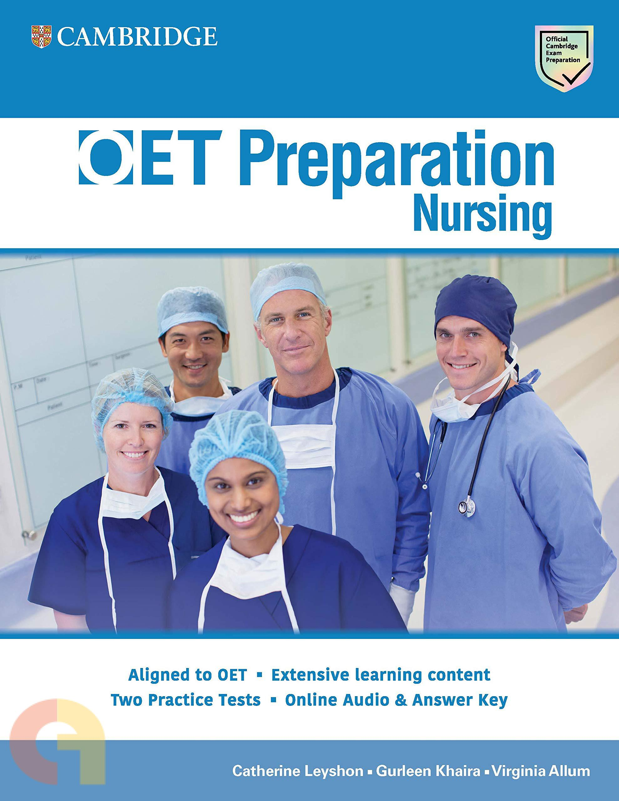 OET : PREPARATION NURSING