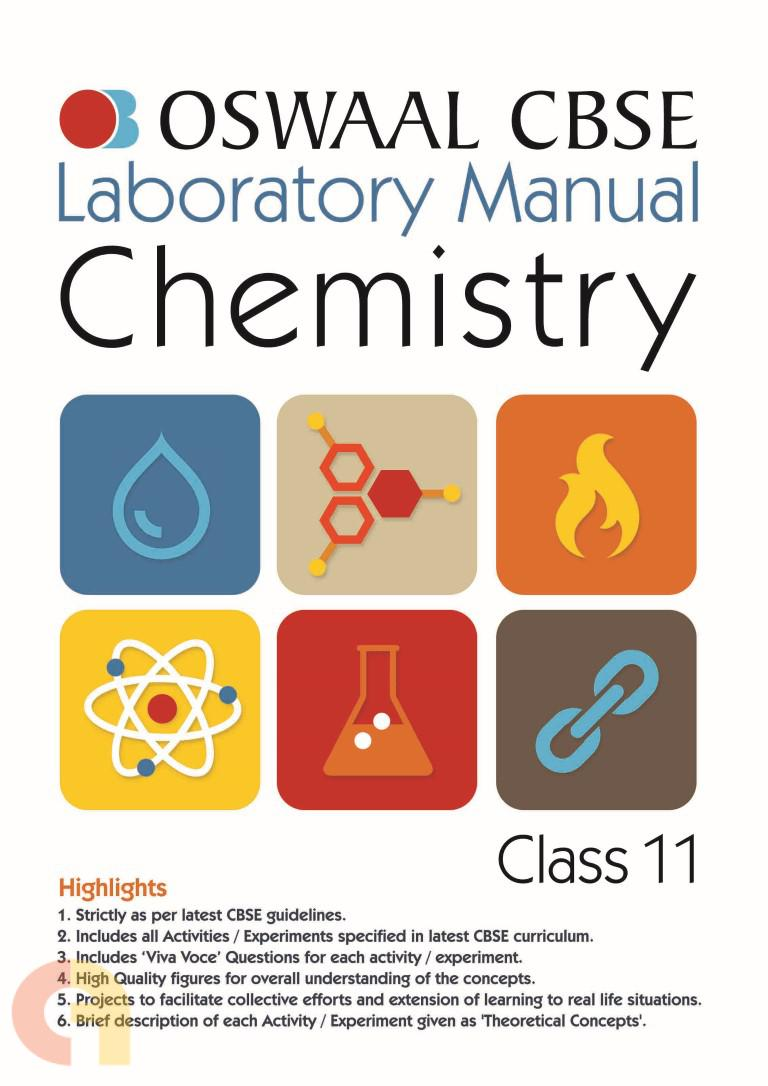 Oswaal CBSE Laboratory Manual Class 11 Chemistry Book