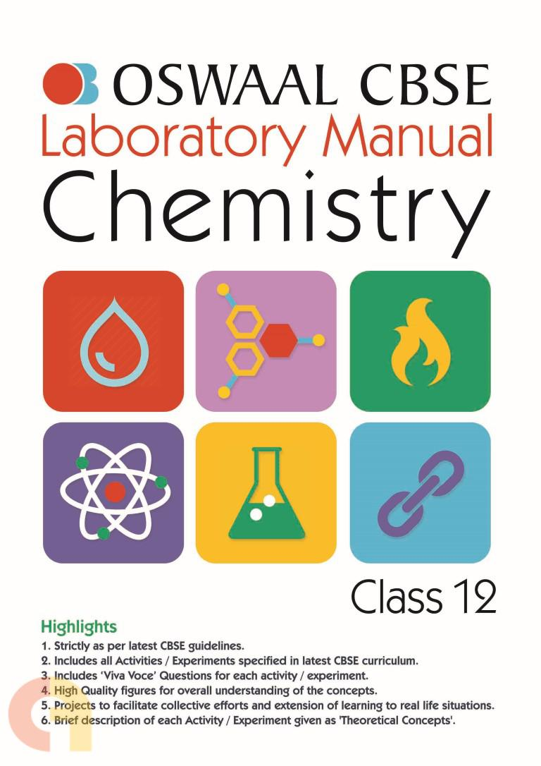 Oswaal CBSE Laboratory Manual Class 12 Chemistry Book