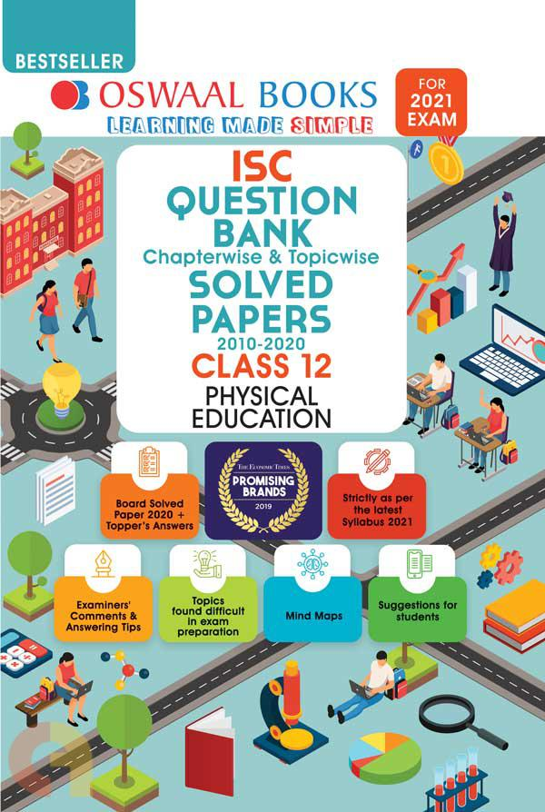 Oswaal ISC Question Bank Class 12 Physical Education Book Chapterwise & Topicwise