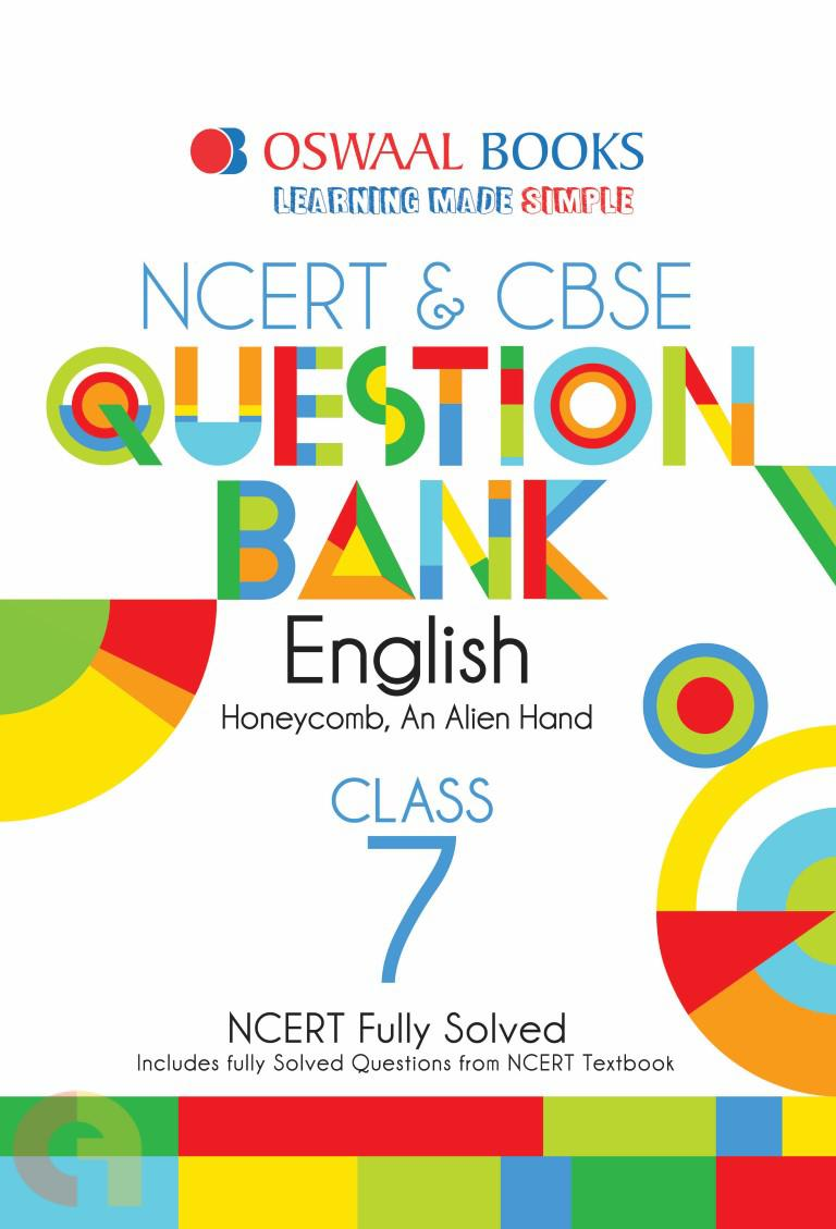 Oswaal NCERT & CBSE Question Bank Class 7 English Book