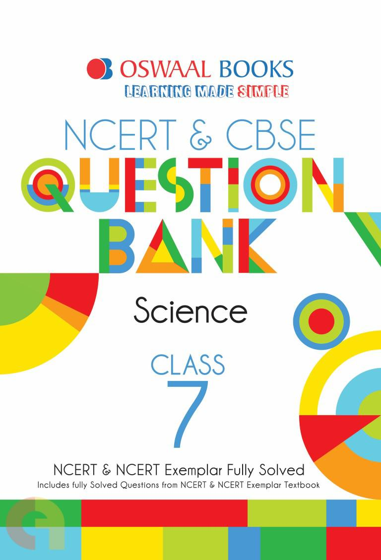 Oswaal NCERT & CBSE Question Bank Class 7 Science Book