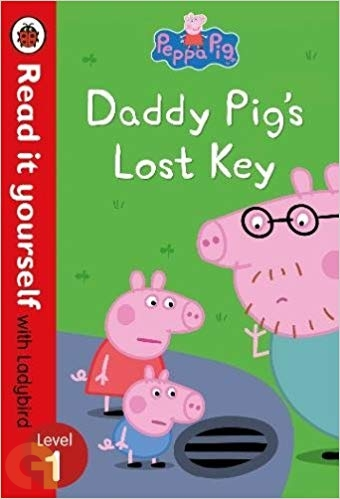 Peppa Pig: Daddy Pig's Lost Key – Read it yourself with Ladybird - Level 1