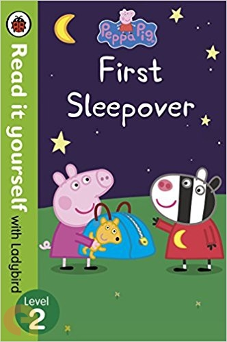 Peppa Pig: First Sleepover - Read It Yourself with Ladybird - Level 2