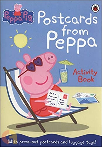 Peppa Pig: Postcards from Peppa Activity Book