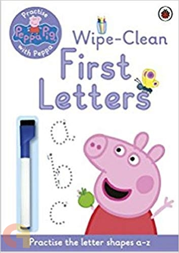 Peppa Pig: Practise with Peppa Wipe-Clean First Letters