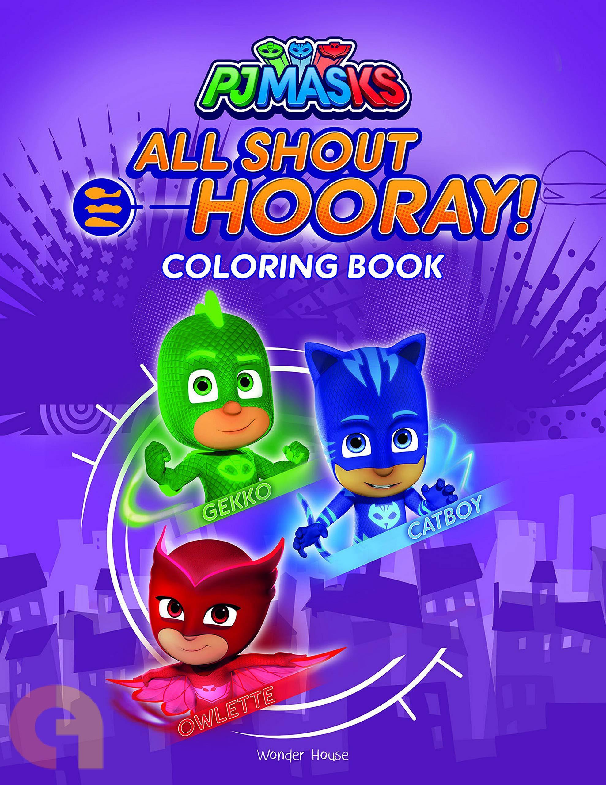 PJ Masks: All Shout Hooray