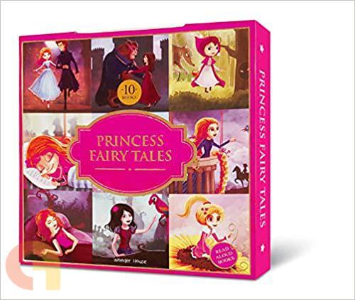 Princess Fairy Tales - A set of 10 classic children fairy tale books