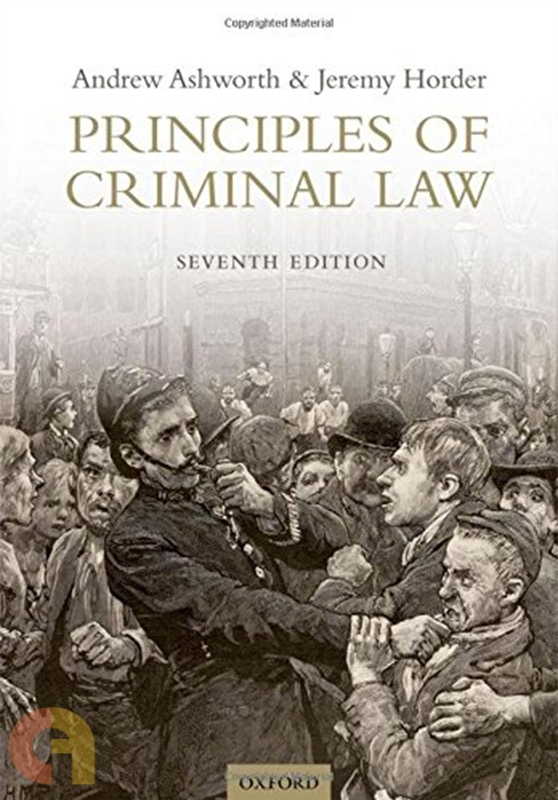 Principles of Criminal Law (Seventh Edition)