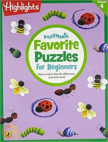 Puzzlemania : Favorite puzzles for beginners - Vol. 4