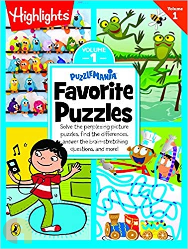 Puzzlemania Favorite Puzzles - Vol 1