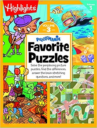 Puzzlemania Favorite Puzzles - Vol 3