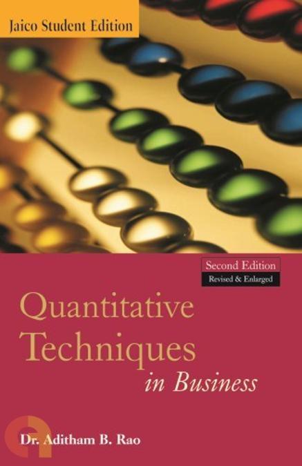 Quantitative Techniques in Business