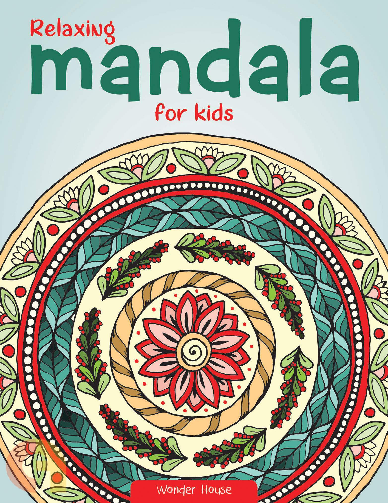 Relaxing Mandala For Kids