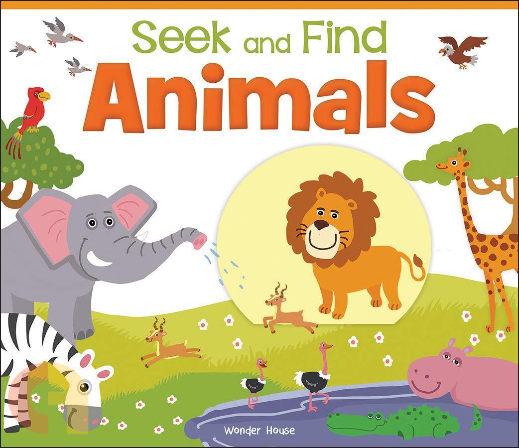 Seek And Find: Animals