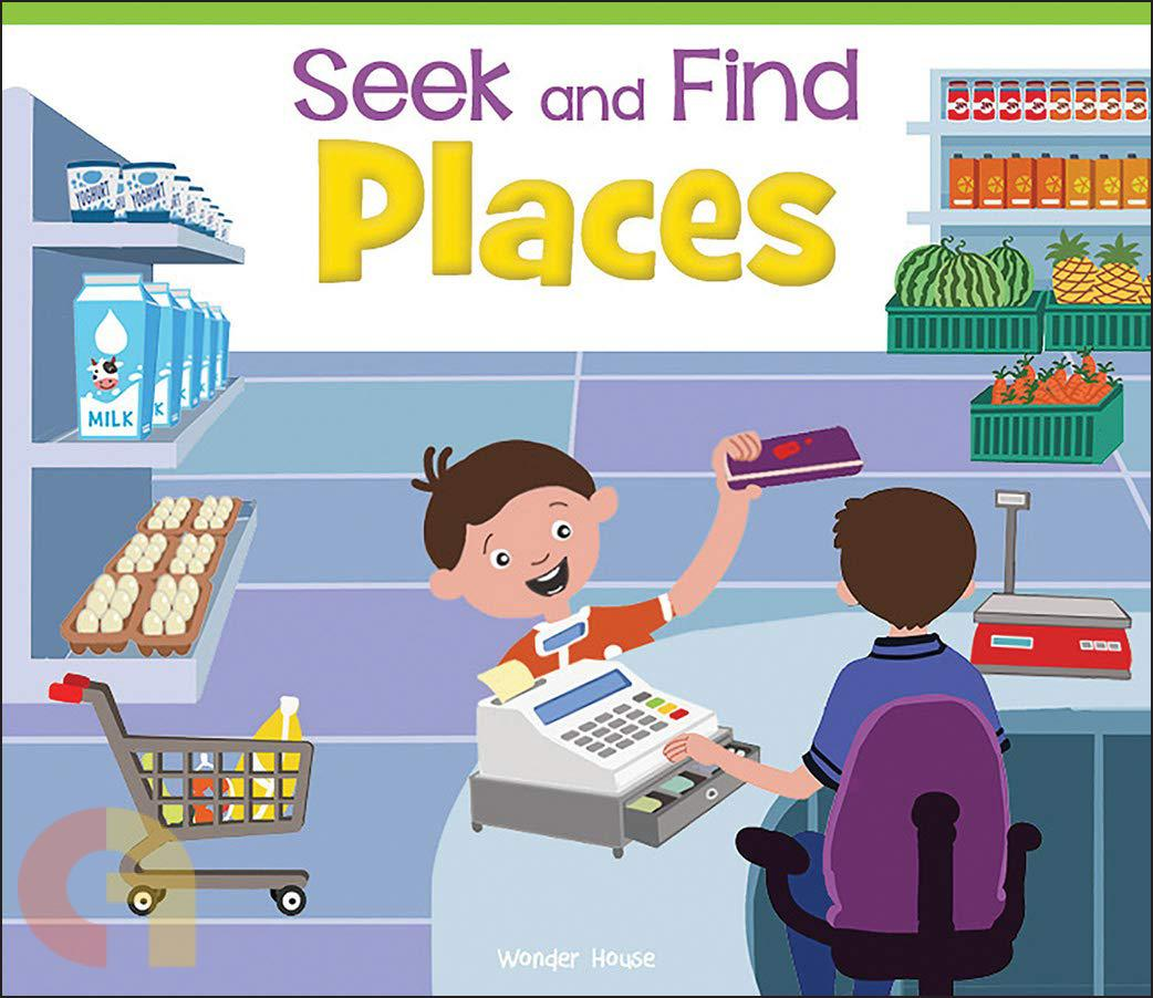 Seek And Find: Places
