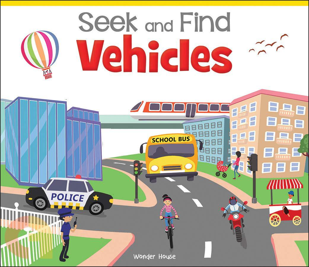 Seek And Find:  Vehicles