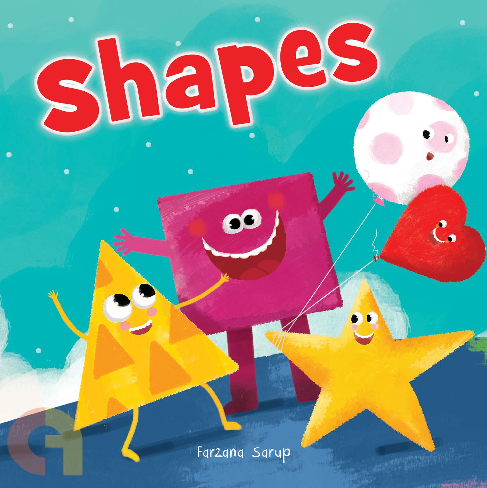 Shapes: Illustrated Book On Shapes