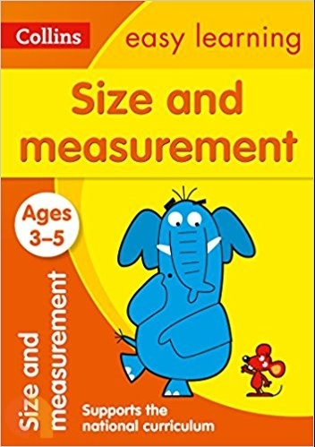 Size and Measurement Ages 3-5: Collins Easy Learning