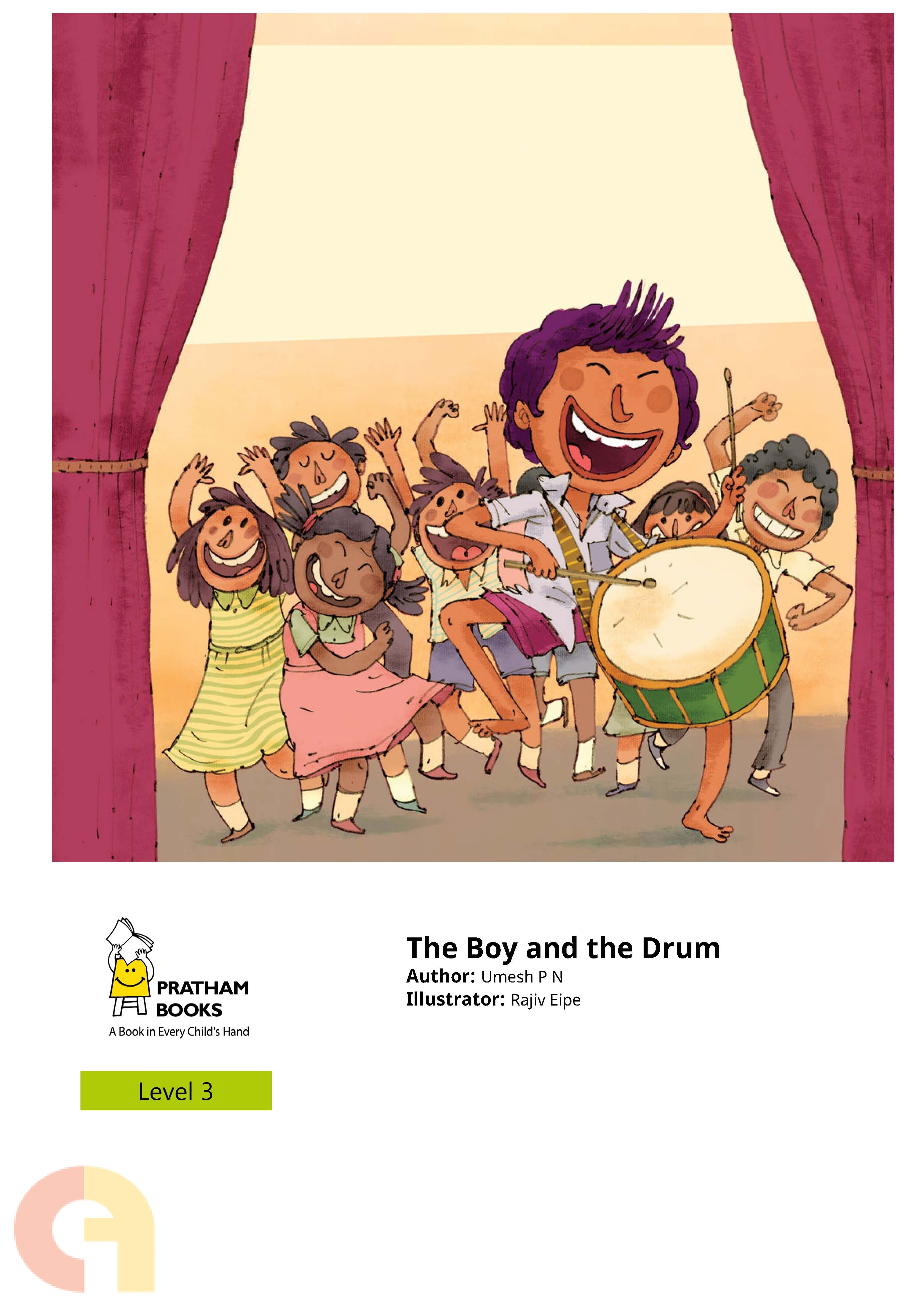 The Boy and the Drum - Level 3 - Pratham