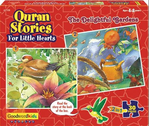 The Delightful Gardens - Islamic Puzzle