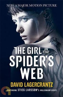 The Girl in the Spiders Web (Film tie-in)