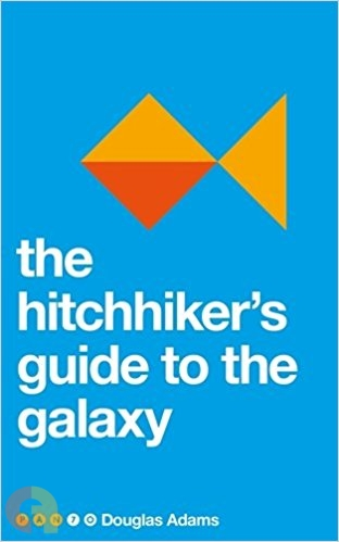 The Hitchhiker's Guide to the Galaxy (Pan 70th Anniversary)