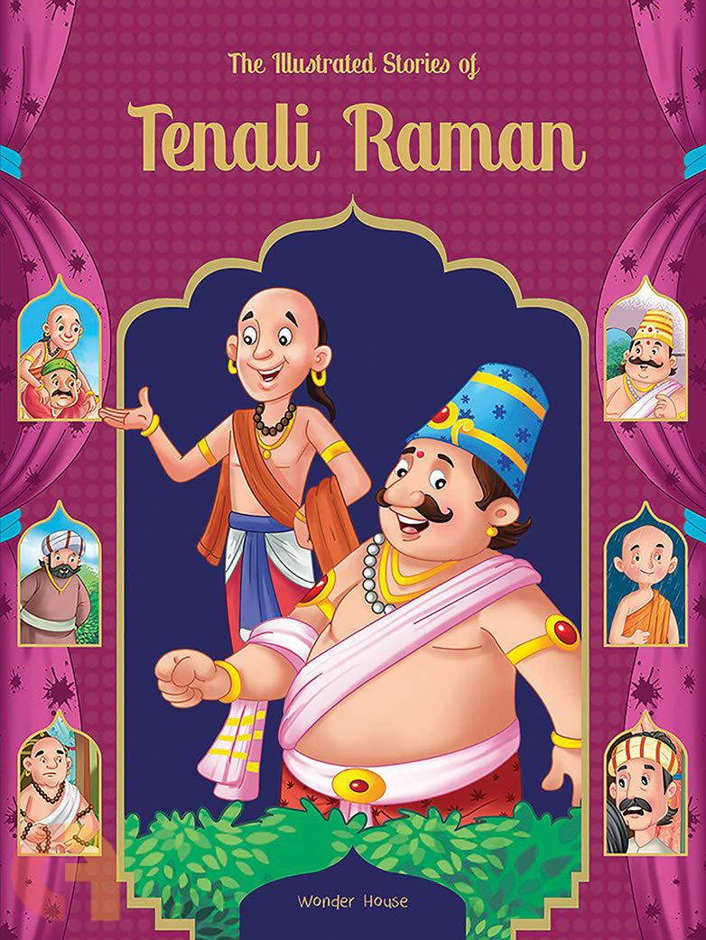 The Illustrated Stories Of Tenali Raman