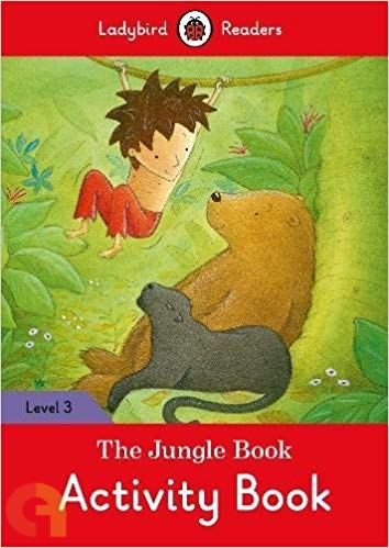 The Jungle Book Activity Book: Ladybird Readers - Level 3