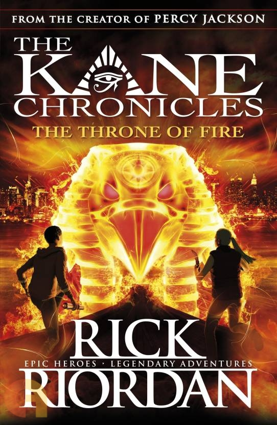 The throne of fire (New)