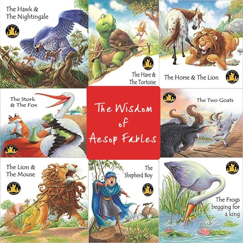 The Wisdom of Aesop Fables  - Set 1