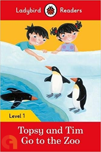 Topsy and Tim: Go to the Zoo: Ladybird Readers - Level 1