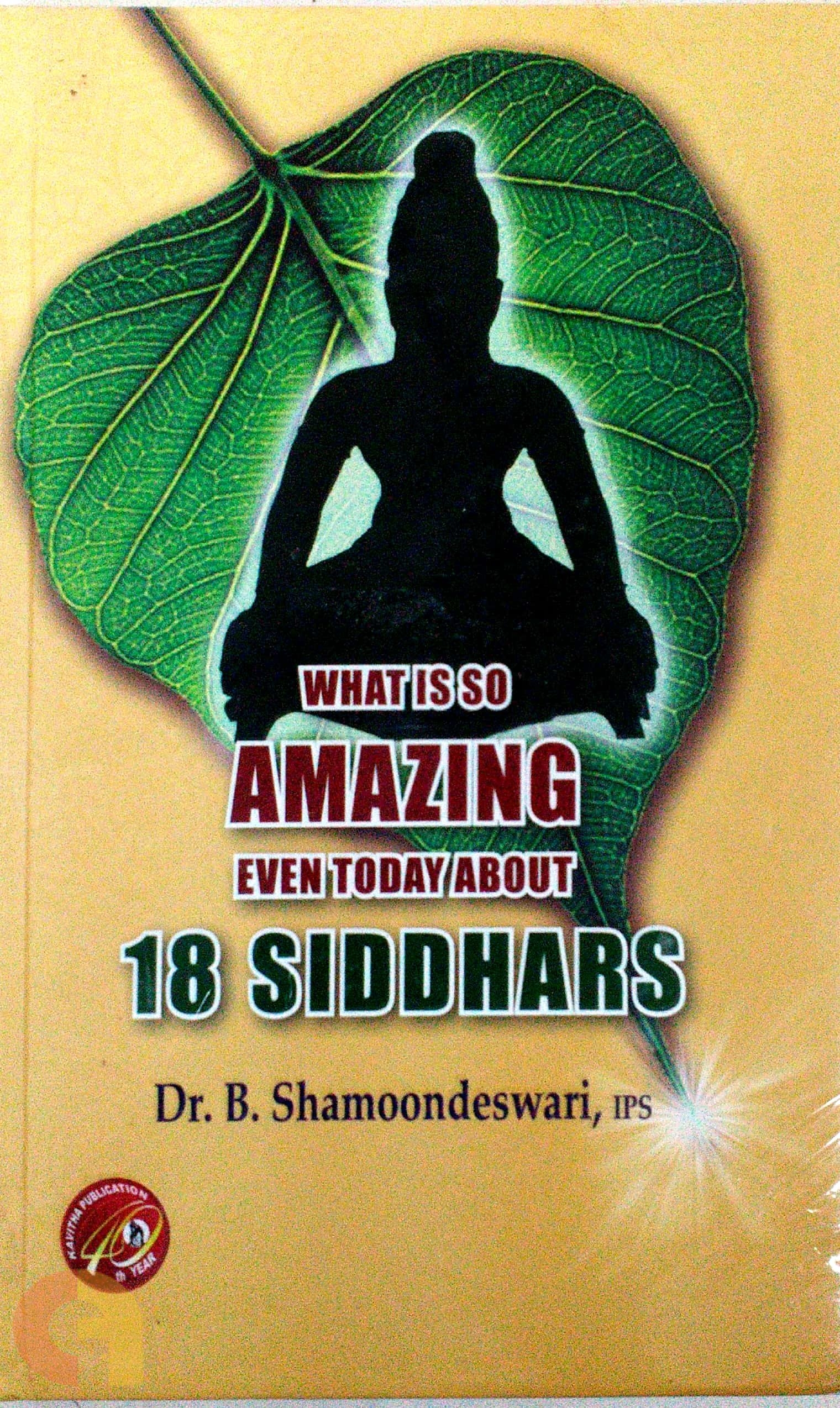 What is so amazing 18 siddhars