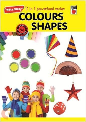 Wipe & Clean - 2 in 1 preschool series - Colours & Shapes