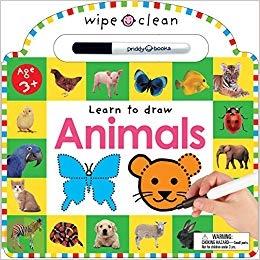 Wipe Clean: Animals
