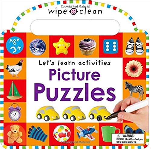 Wipe Clean: Picture Puzzles: Let's Learn Activities