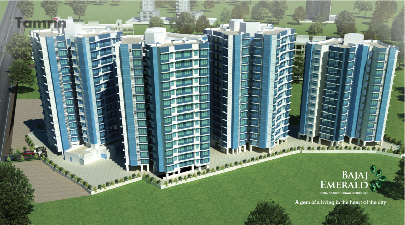 Bajaj Emerald - Elevation